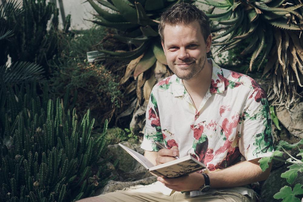 Philipp Spreckel lieferte die Geschichte für den Yellowstone Comic
